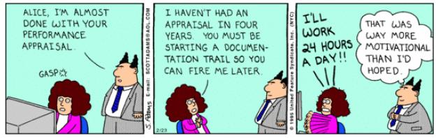 performance management cartoon