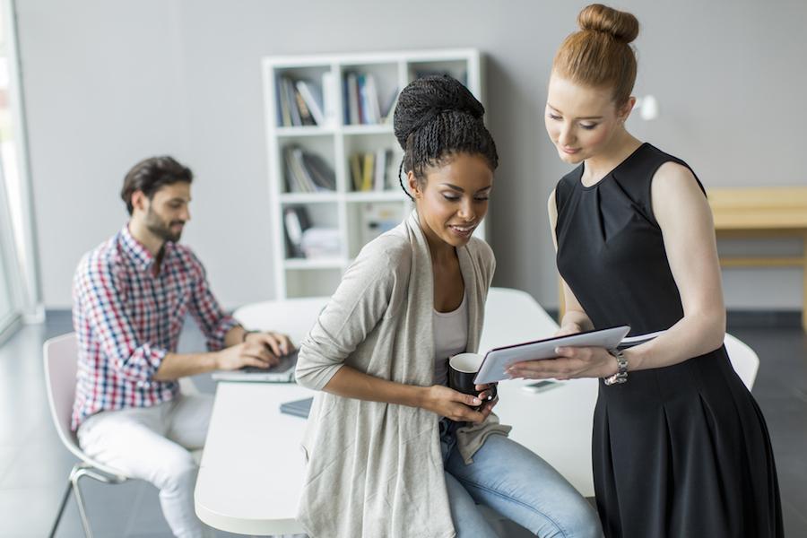low performing employees sitting around