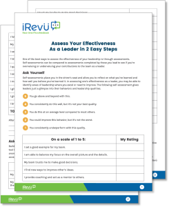 leadership style assessment printable