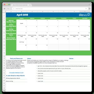 Performance Management Calendar