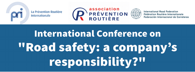 International Conference on Road safety: a responsibility of the company?