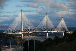ARUP's work on Queensferry Crossing (Scotland) and Champlain Bridge, Canada