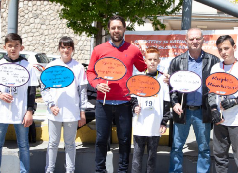 Activities in Kosovo supporting the 5th UN Global Road Safety Week