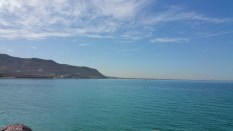 Looking towards La Paz