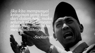 1.Soekarno