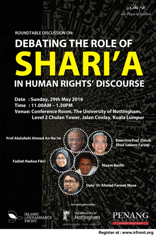 debating the role of shariah in human right discourse2