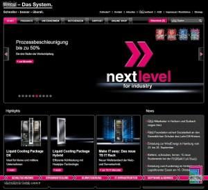 Webseite ohne sprechende Navigation