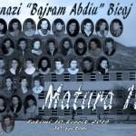 Gjimnazi Havzi Nela.Matura 2001