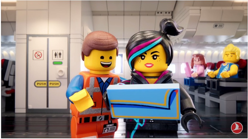 Irhal   News Turkish Airlines has launched a new animated safety video in partnership  with Warner Bros  and featuring popular characters from The LEGO Movie  franchise