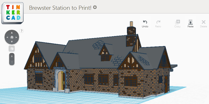 Profiled a story of brewster station by emily tinkercad Tinkercad 3d
