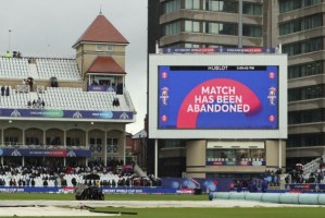 New Zealand vs India ICC Cricket World Cup match washed out