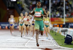 """Caster Semenya has criticized the IAAF for using her as a """"human guinea pig"""""""