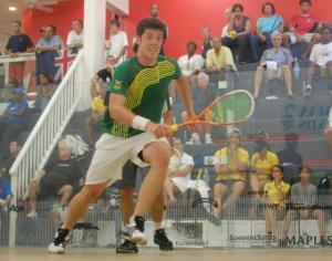 Chris Binnie claims fourth Caribean squash title