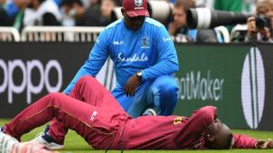 Andre Russell suffers injury in West Indies loss to England