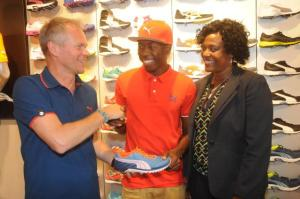 Rising Jamaican track star signs with Puma