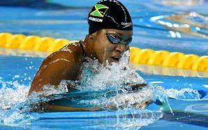Alia Atkinson splashes up solid performance at this summer's World Championships Korea