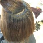 【お客様Style】くせ毛の方必見!低温ストレートで極力負担を抑えた髪質改善