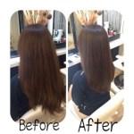 【お客様Style】カット&ストレートパーマでの美髪改善