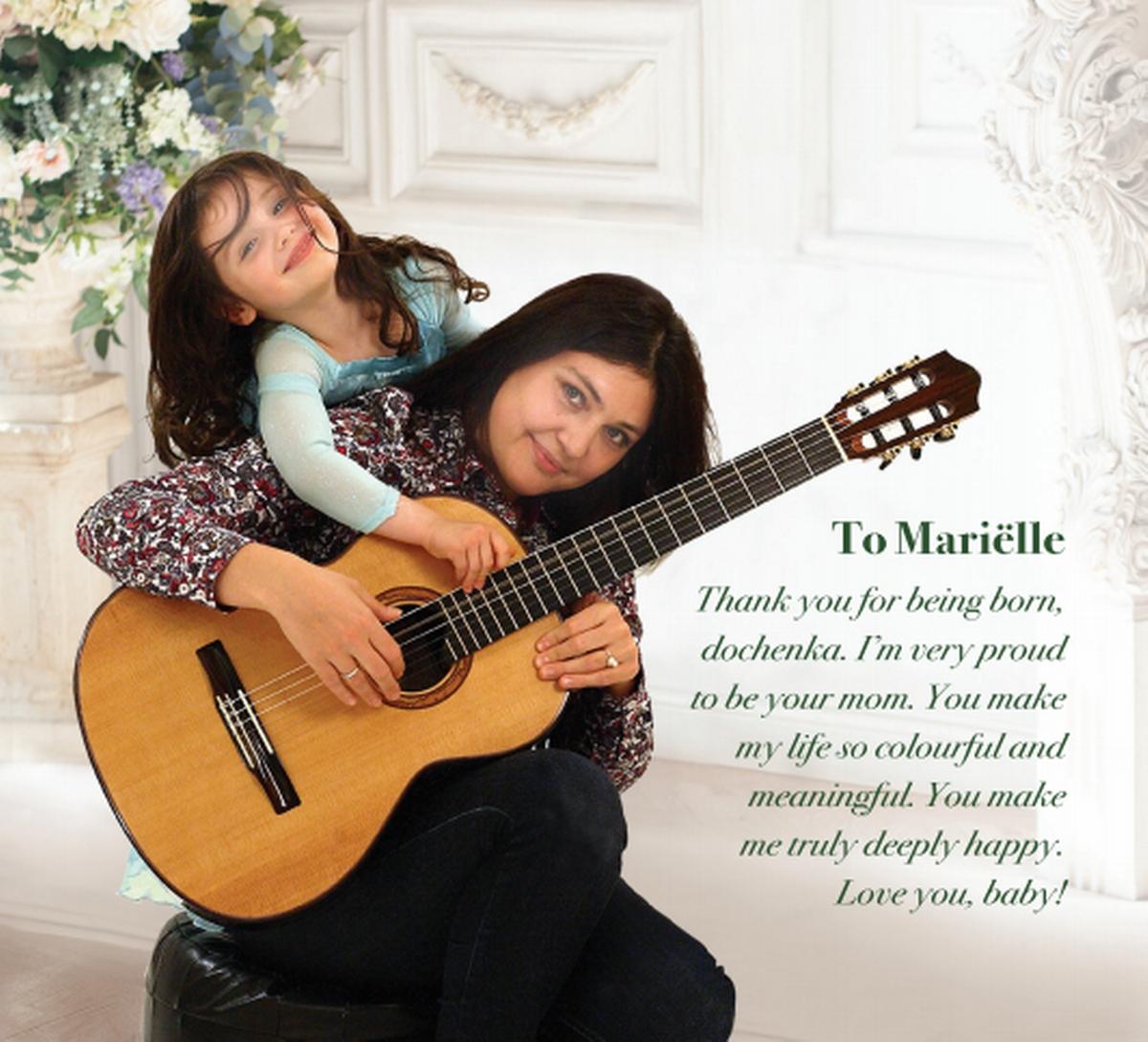 To Mariëlle - dedication