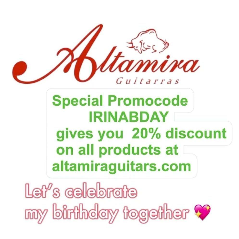 20% Discount at Altamira Guitars
