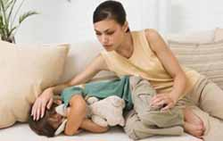 Загиб желудка у детей