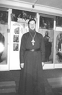 Настоятель Свято-Троицкого храма поселка Тура иеромонах Григорий (Яковлев)