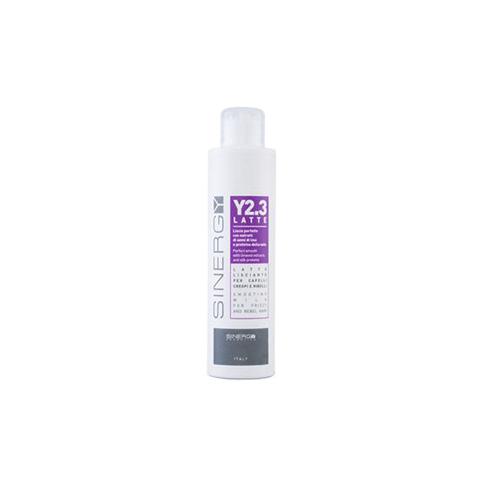 Sinergy Y2.3 - Latte lisciante per capelli crespi e ribelli