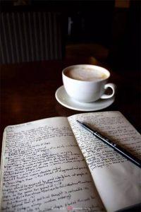 rutina del escritor