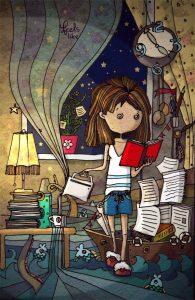 lectura y personajes