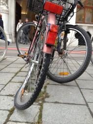 Kaputtes Rad Wien