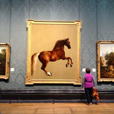 Whistlejacket National Gallery Horse