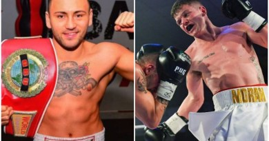 German Champ accuses Dylan Moran of turning down the chance to settle their grudge