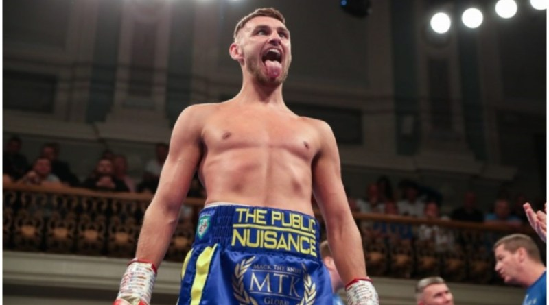 Sean McComb puts heavy hitting lightweights on notice