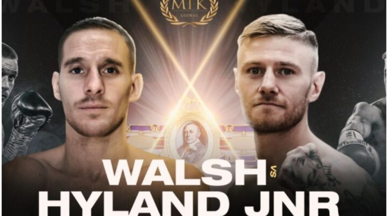 Date and venue set for Paul Hyland and Liam Walsh's British title fight