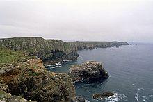 Klippen an der Nordküste von Tory Island