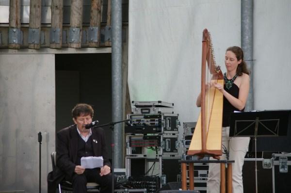 Mick Fitzgerald und Nadia Birkenstock bei den IRISH DAYS 2011