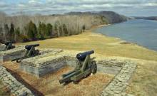 One of Fort Donelson's River Batteries (Hal Jesperson)