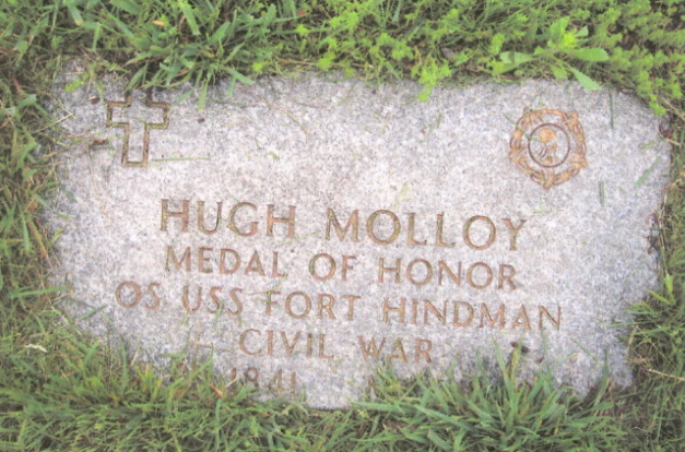 Hugh Molloy Memorial (Don Morfe Find A Grave)