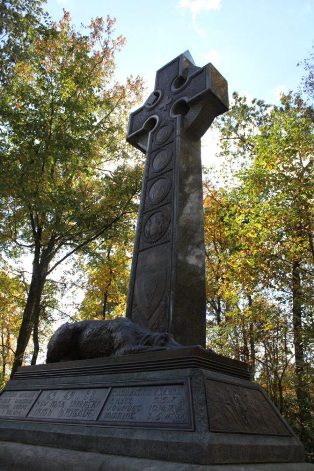 The Irish Brigade Memorial at Gettysburg (Damian Shiels)