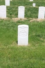 Mortimer Sullivan, 14th New York Heavy Artillery. Died 3rd June 1864.