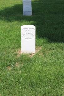 John Burke, 28th Massachusetts Infantry. Died 6th June 1864.