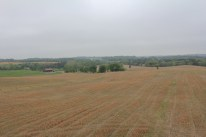 11. View from the Observation Tower of the ground over which the Irish Brigade advanced, marching towards the camera.