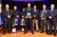 Life Saving Award presented to Massachusetts State Police Trooper Michael M. Murphy at the Irish American Police Officers Association Annual Awards Dinner held at The Malden Irish American Club in Malden on Saturday, May 4, 2019. Photography by David Sokol