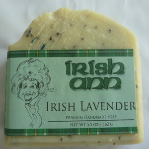 Irish Ann Brand - 5 Bars Irish Lavendar - $30.00
