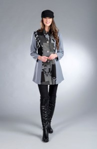 WOW! The Dubliner Long Jacket from Tivoli - $125.00
