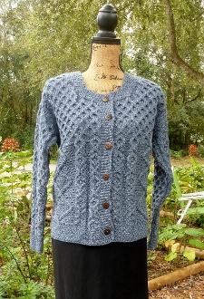 100% Merino Wool (No Itch) Denim Casual Jacket - $98.00