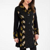 Westport Long Jacket with Green Contrast by Tivoli $125.00