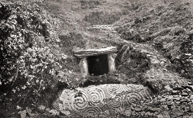Old photo newgrange