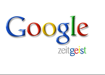 Google Zeitgeist lists Google Search