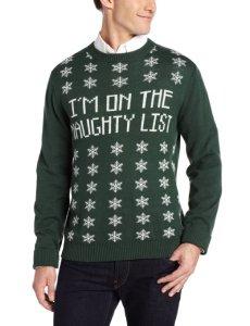 Christmas Jumpers - Naughty List